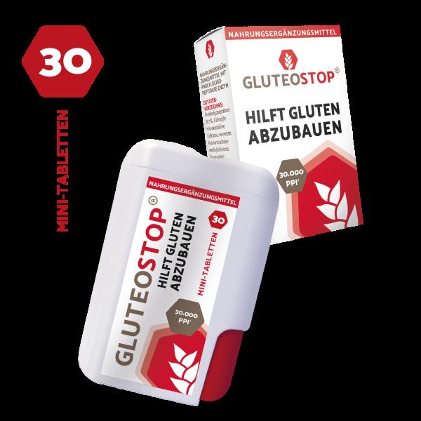 GluteoStop Packshot Spender & Faltschachtel